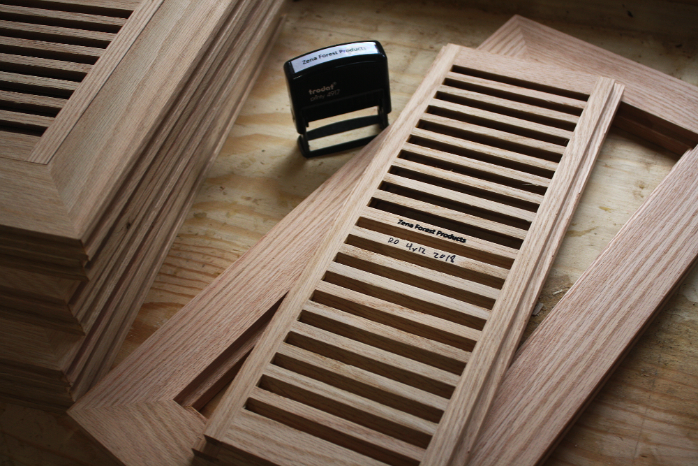 Storch Woodworking's superb vent design, now made by Zena Forest Products.