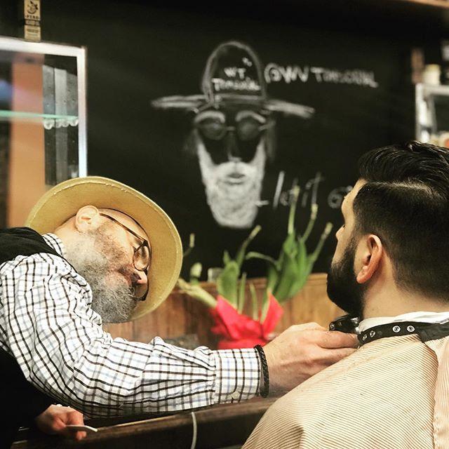 Whose beard you like the most? #beards #artistatwork #beardshaping #andiscordless #sheers #mizutaniscissors @mizutaniscissors_official @beardbrand @andisclippers @beards_of_nyc #227waverlyplace #WestVillageTonsorial