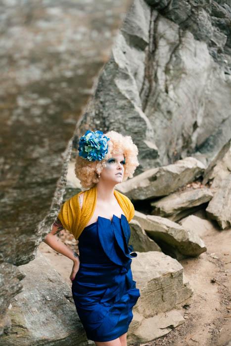 Model- Carmen Whitaker  MUA-  IvetteWornstaff