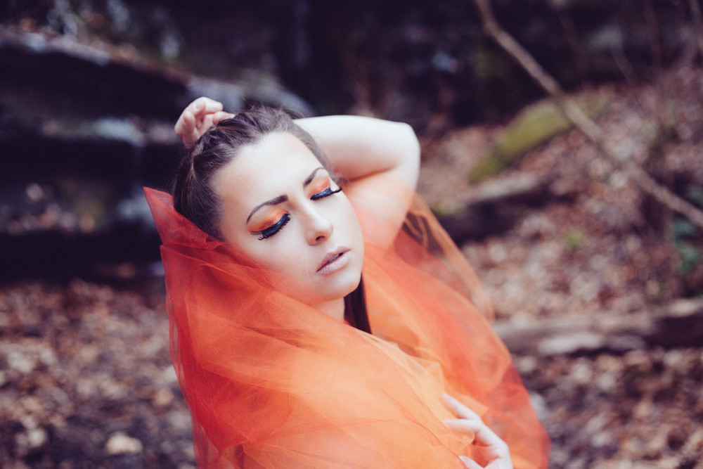 Model- Amber Barge  MUA- Ivette Wornstaff