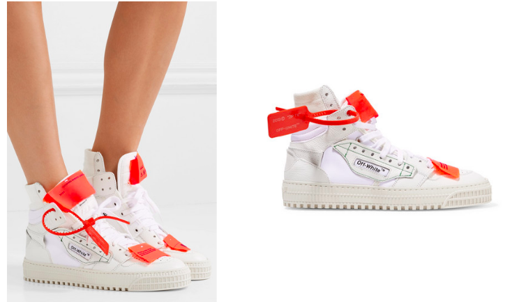 They look more complicated than they are. Just adjust those laces to your delight, and take advantage of the extra luggage tag! Sneakers /  Off-White