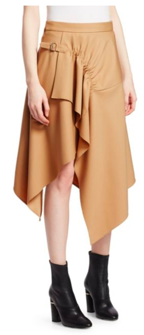 This  3.1 Philip Lim  skirt caters to every shoe u own