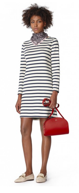 See? Totally pulling it off… Dress /  A.P.C.