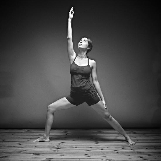 Lunchtime Power Yoga Edinburgh with Bita Shafipour www.yogisonthemat.co.uk