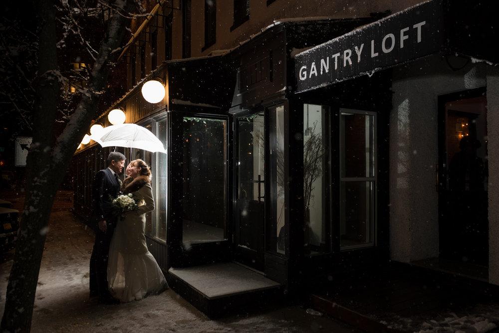 Long Island City Winter Wedding
