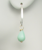 Add our handmade Peruvian Opal 'mini' arc earring to create a set.
