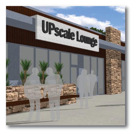 upscale lounge