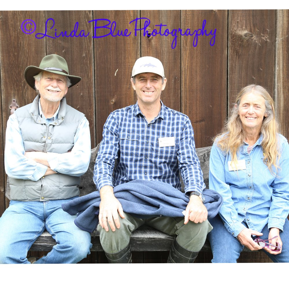 Thank you to Bob, John and Sally! And a special thank you to Arroyo Hondo Perserve and The Santa Barbara Land Trust!