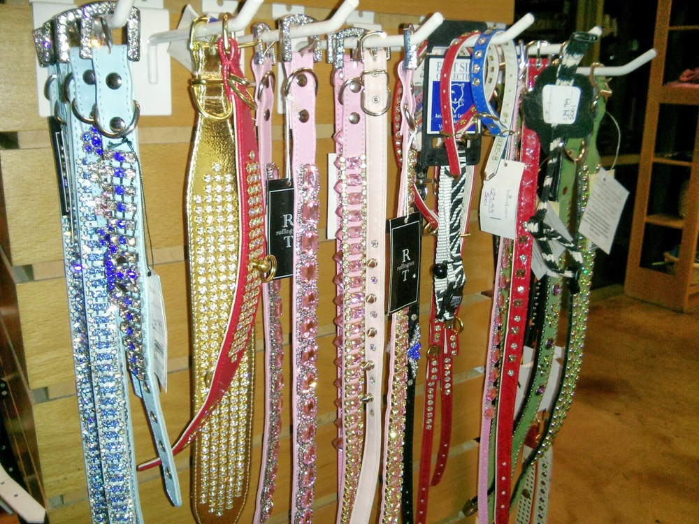 Collars & Leashes   bling!