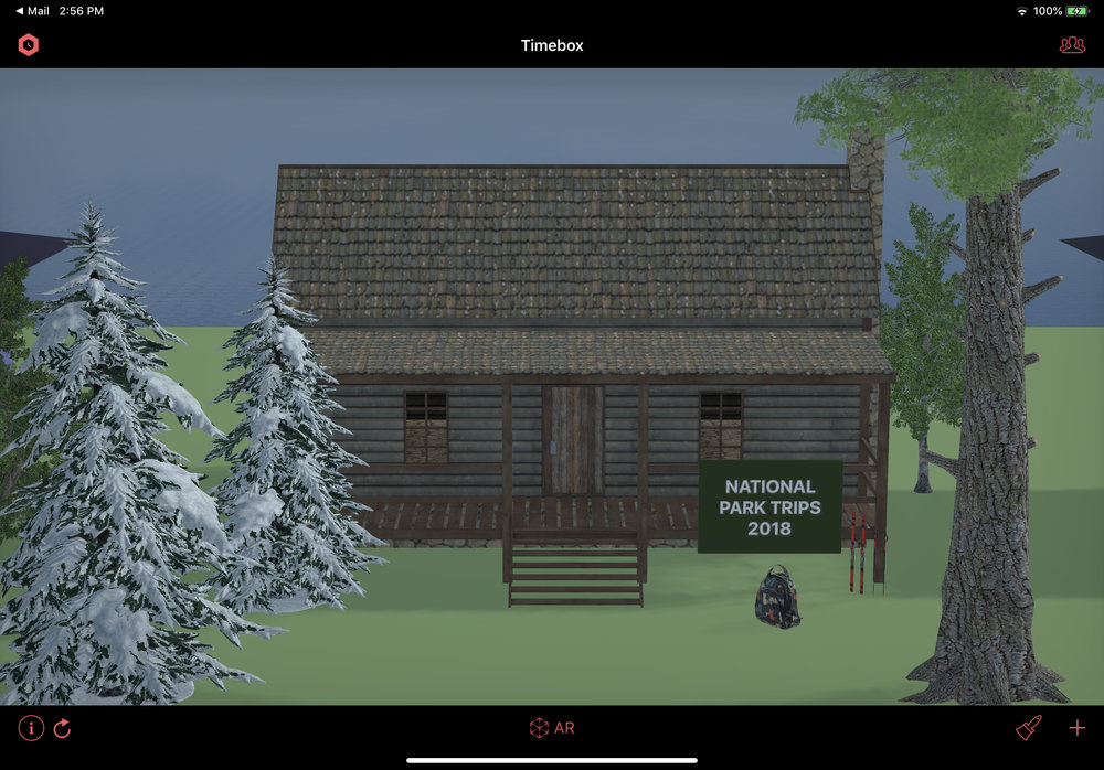 New Wood Cabin building style.