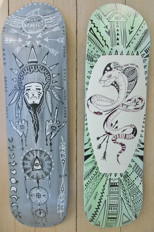 """Black Magic"" (sold) & ""Tribal Bite"" FOR SALE"