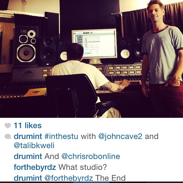 Regram from a while ago..@drumint @pumapumelli #RadioSilence
