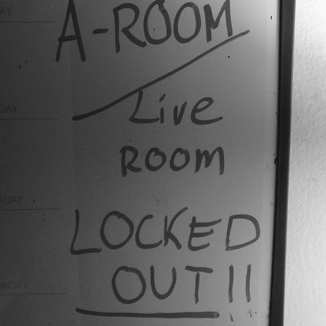 Gonna be busy for a few.. #LockOut #KindaBusy