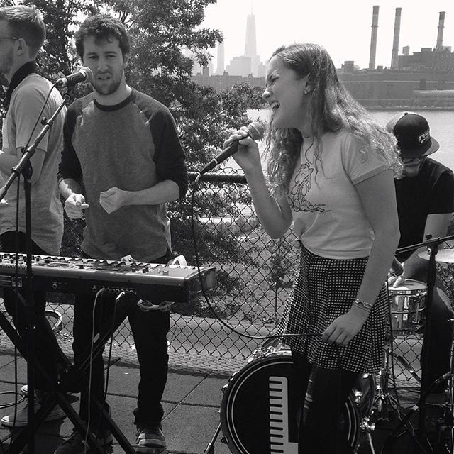 It's always great having @balconytvbrooklyn bands come by! Check out the latest video of @lawrencetheband performing Alibi at BalconyTV.com/Brooklyn #nycrooftops #localmusic