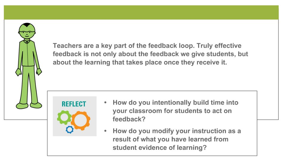 Image taken from Module 4: Analyzing Evidence and Providing Effective Feedback