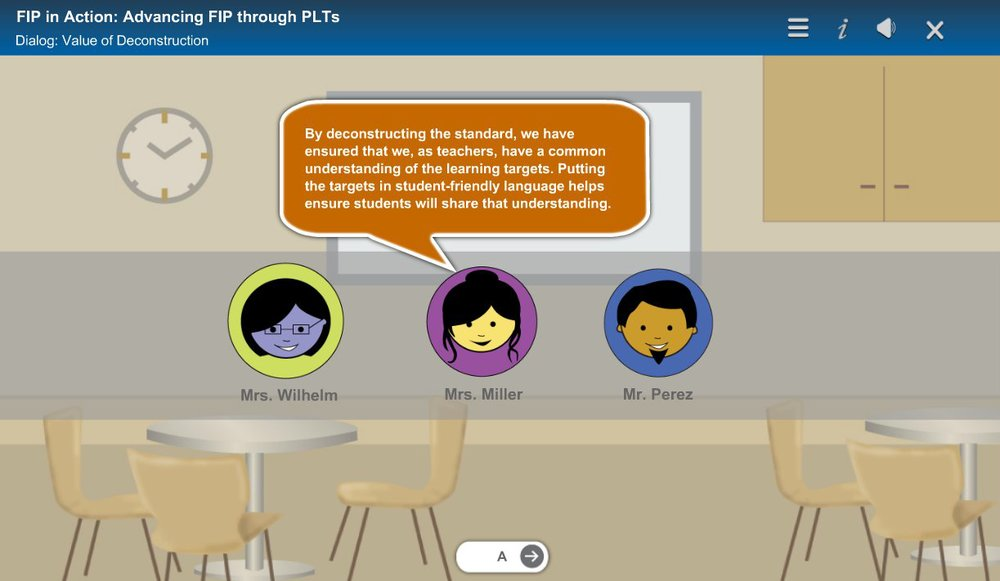 Ohio educators can enroll in FIP in Action:  Advancing FIP through PLTS here.