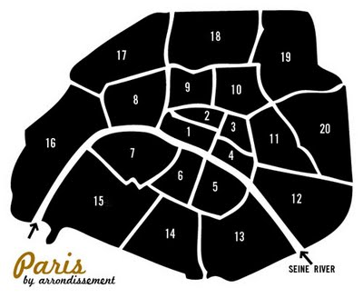 Vayable Tour With Anne Ditmeyer In Paris Finding The - Paris map outline