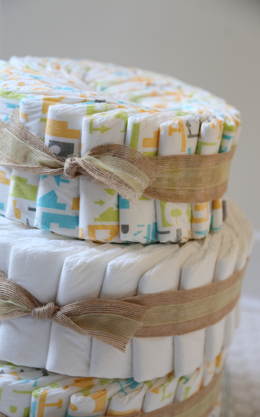 Honest Diaper Cake