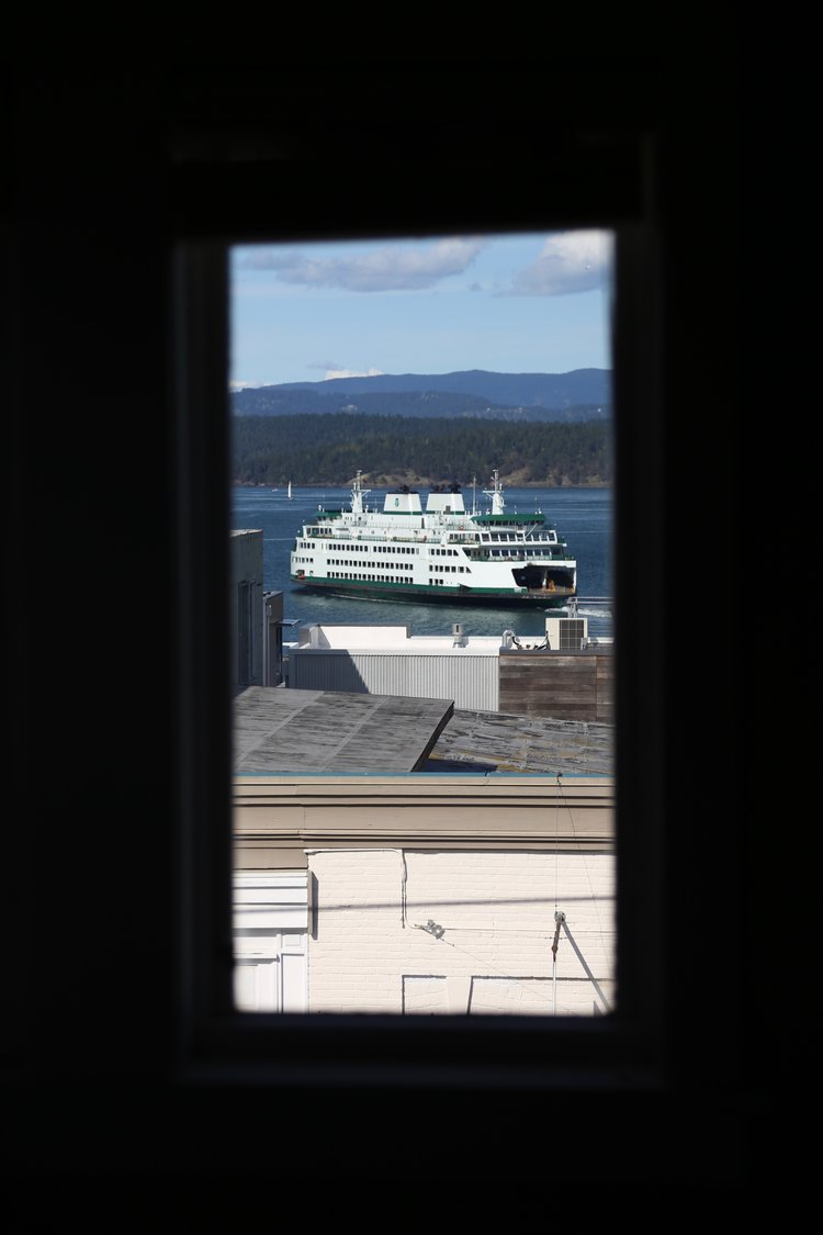 View from the Bird Rock Hotel in Friday Harbor  Lisette Wolter-McKinley