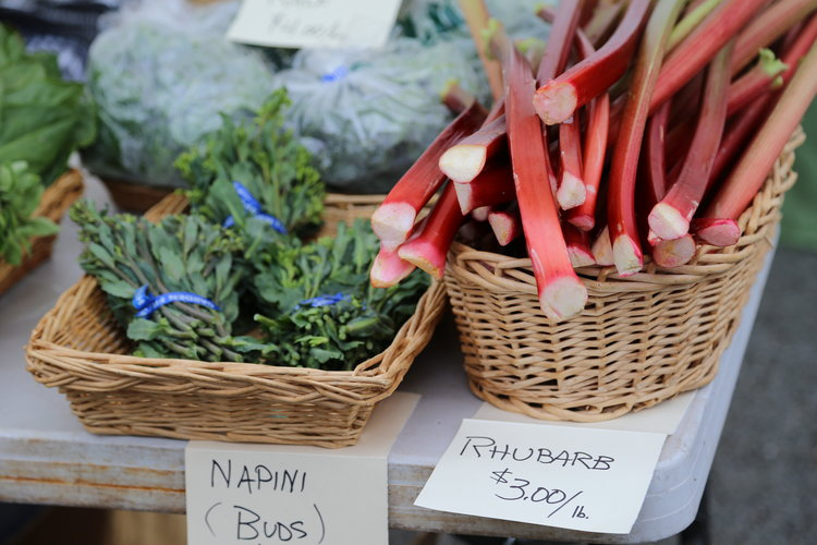 Spring at San Juan Island's Saturday Farmer's Market  Lisette Wolter-McKinley