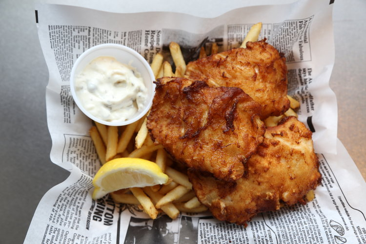 Yummy Fish and Chips in Friday Harbor Washington  Lisette Wolter-McKinley