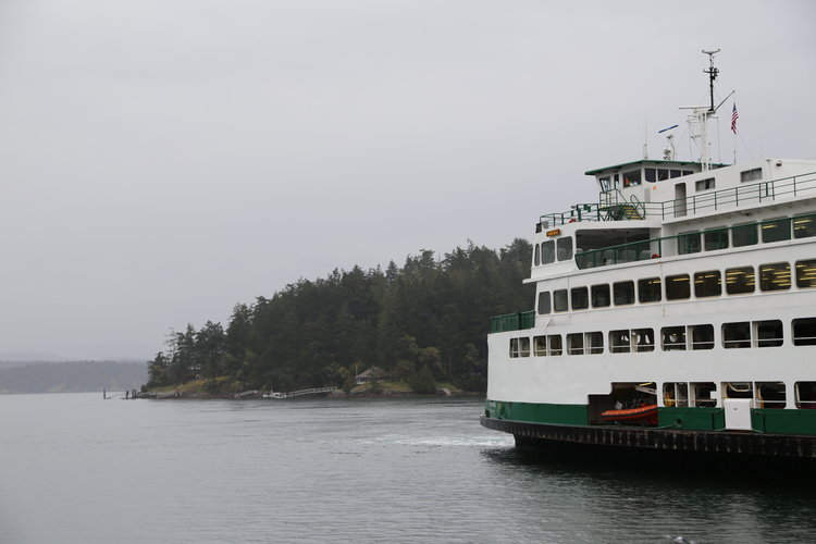 Ferry to Friday Harbor, San Juan Island  Lisette Wolter-McKinley