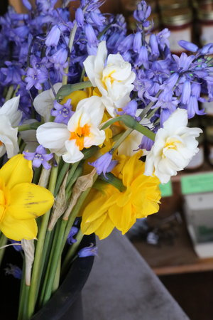 Fresh flowers at San Juan Island's Bird Rock Hotel  Lisette Wolter-McKinley