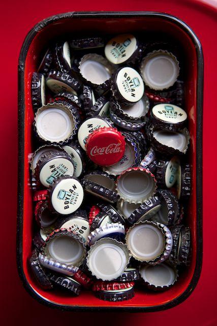 Katalina's Bottle Cap Bin
