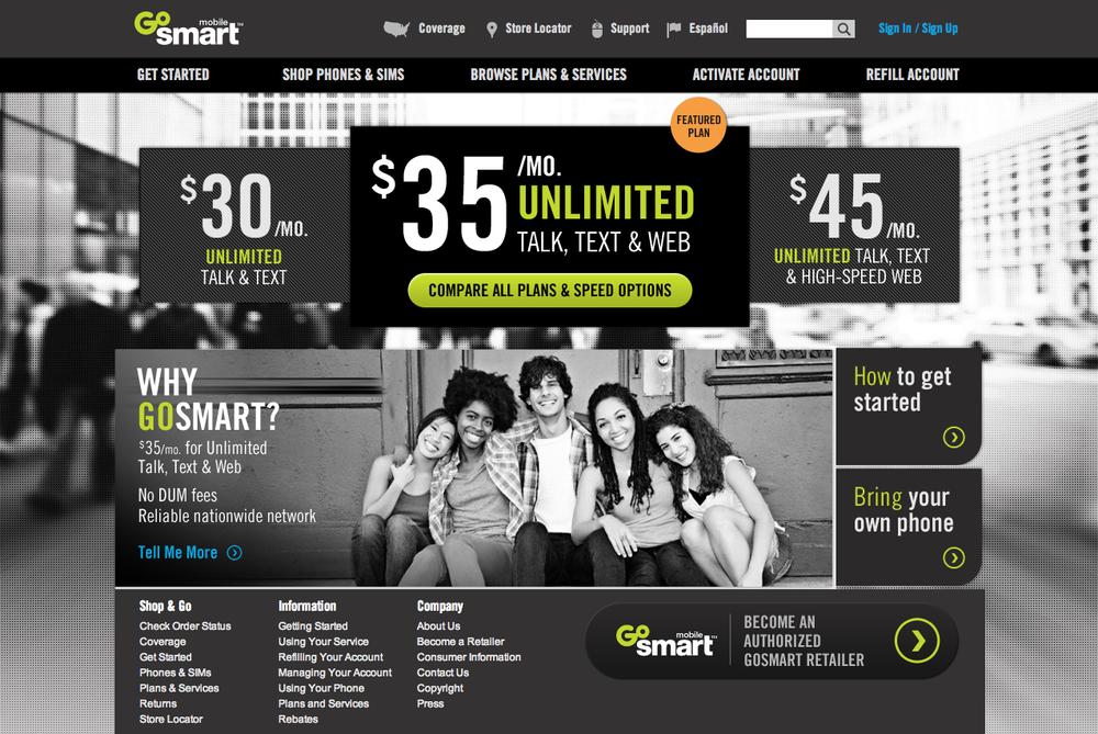 """""""GoSmart"""" Mobile"""