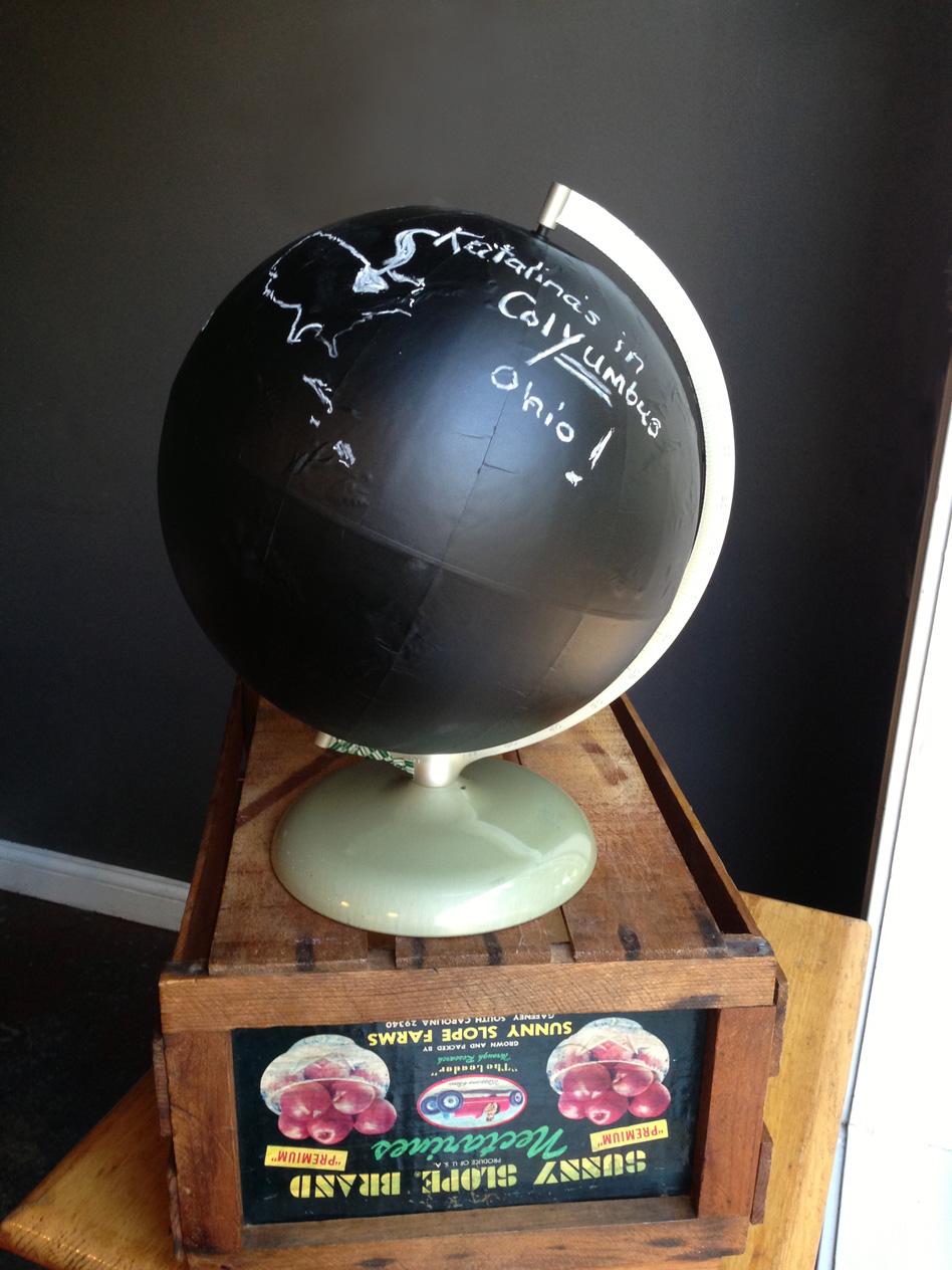 Katalina's Chalk Globe