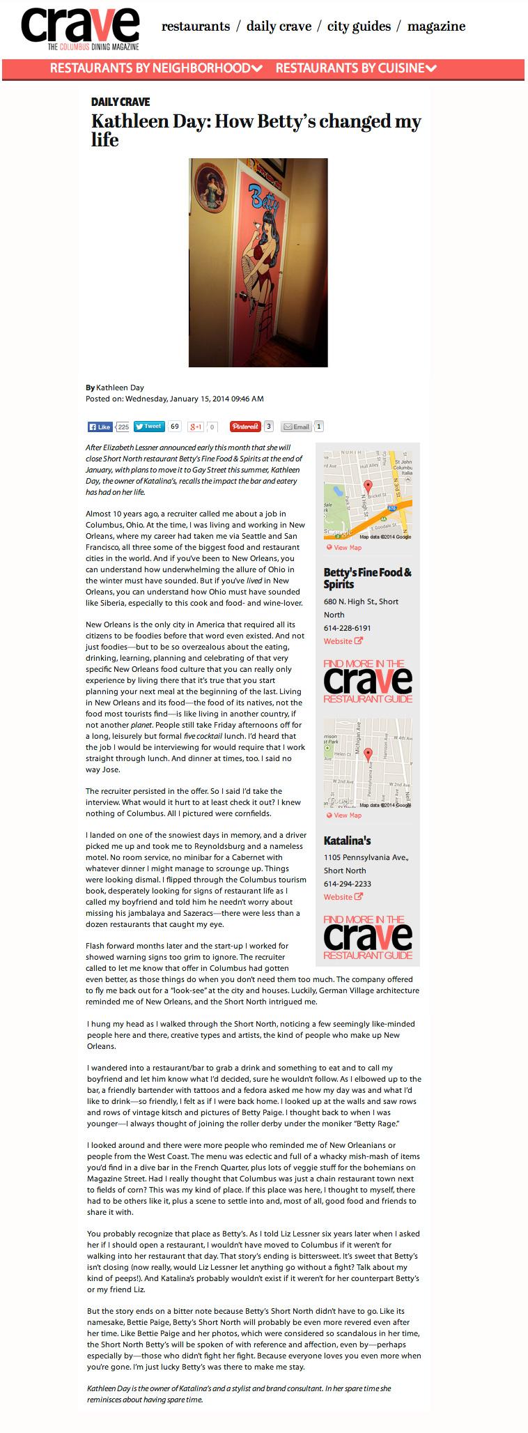 Columbus Crave, 2014. Read original article here.