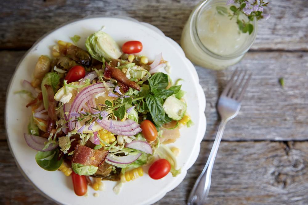 Katalina's Maque Choux Salata