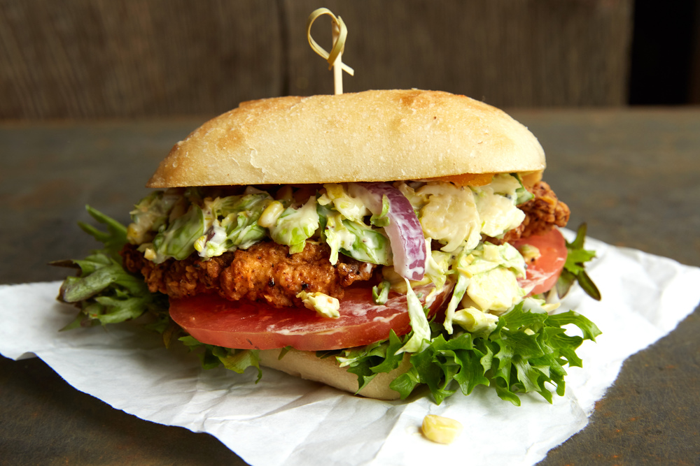 Katalina's Southern Fried Chicken Sandwich