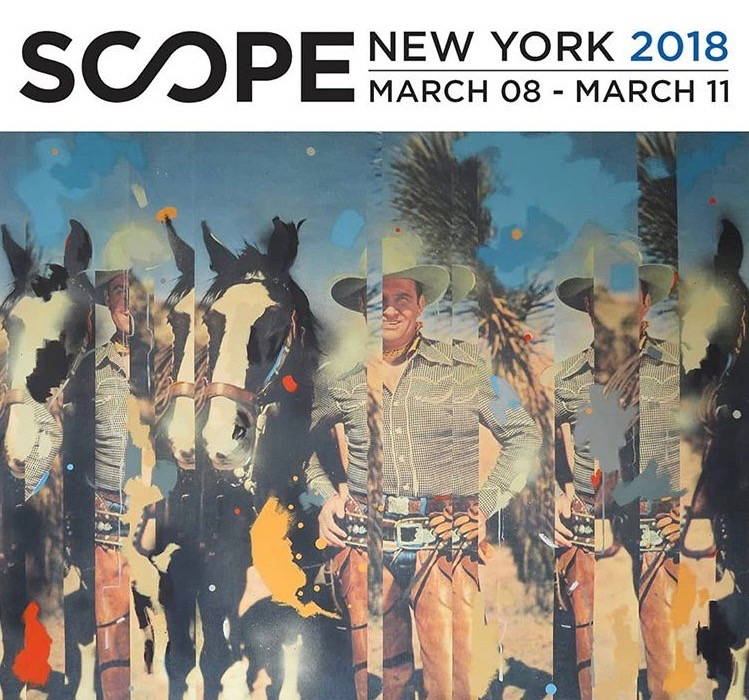 Excited to be exhibiting at SCOPE NY 2018 with Roman Fine Art , Booth #015  Click through to preview the booth on Artsy