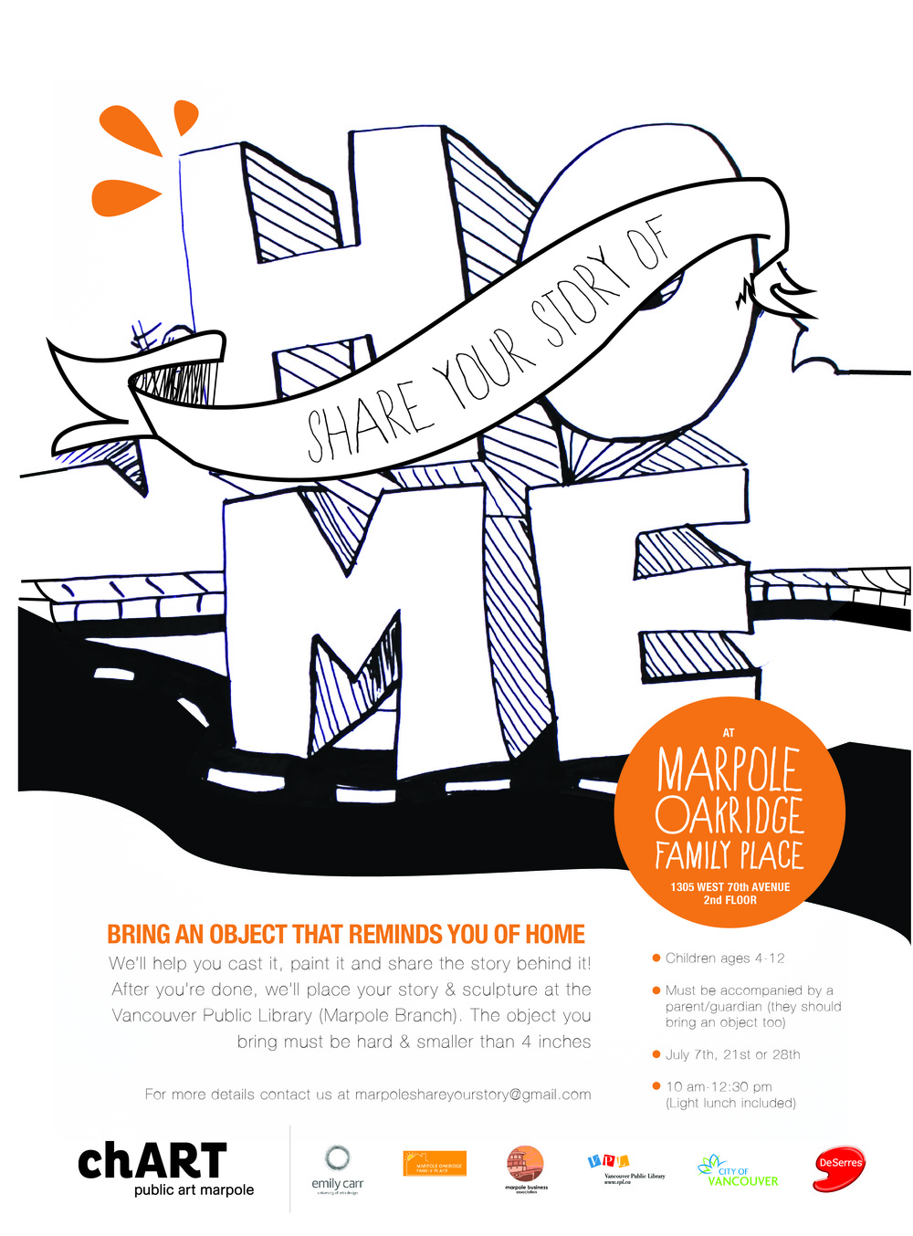 Poster for Marpole: Stories of Home