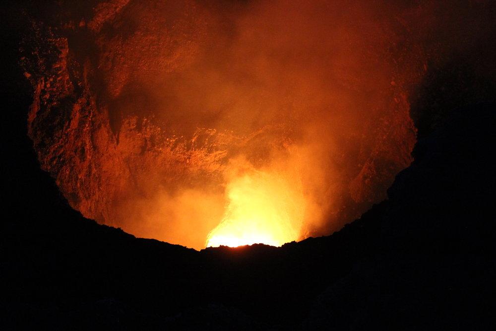 Los mercados y el Parque Nacional del Volcán Masaya -