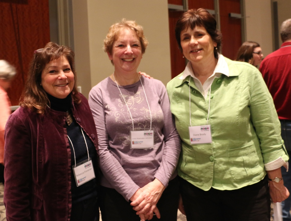 Rebecca Finneran, Linda Shoemaker Johnston, Diane Brady