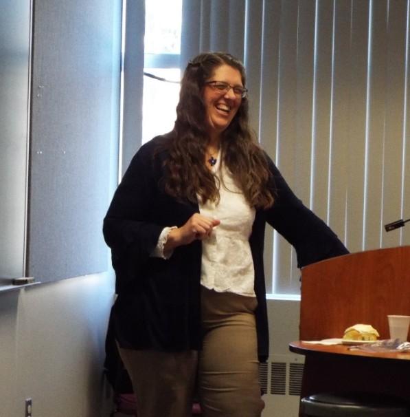 Presenter Jill Reuss