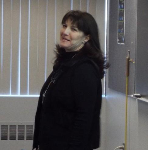 Presenter Belinda Collins