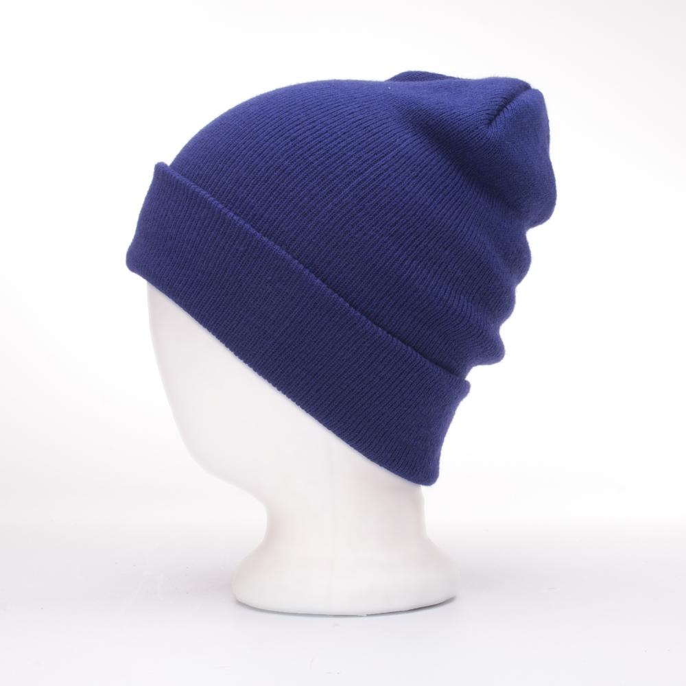 CUSTOM STAPLE BEANIE | BLUE