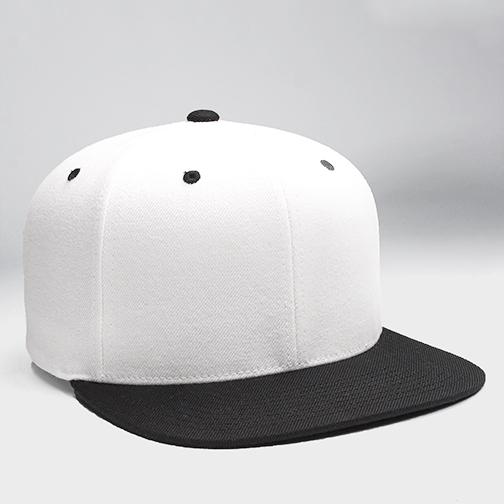 i51 - White & Black Custom Snapback