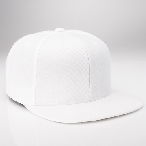 i51 - White Custom Snapback