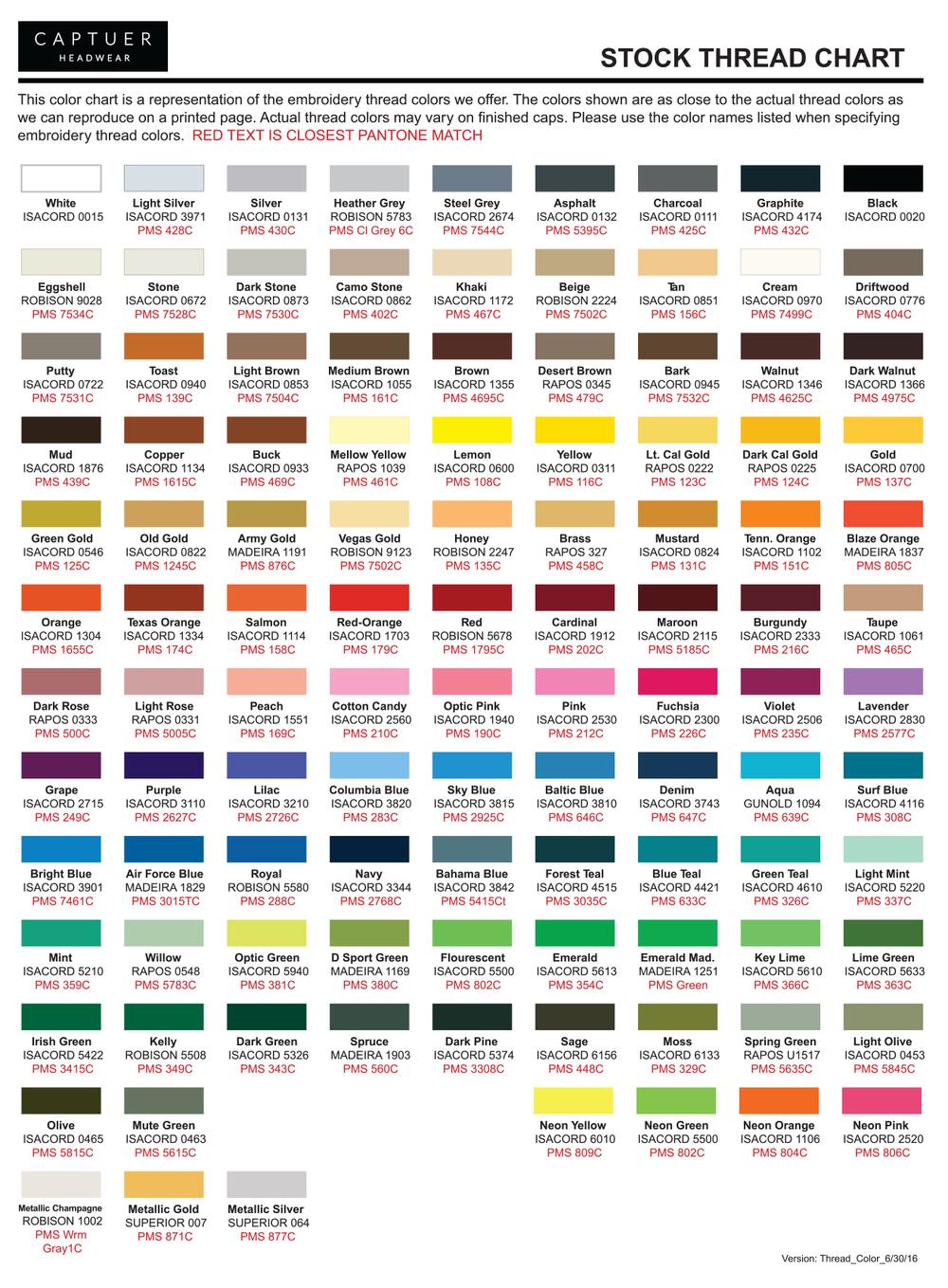 Thread chart captuer headwear download captuer thread chart illustrator pdf nvjuhfo Images