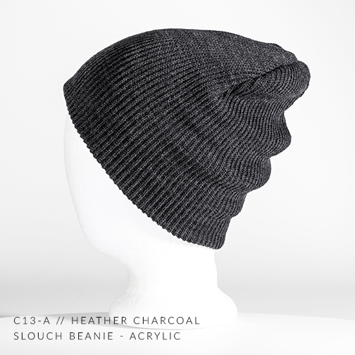 c13-A // CHARCOAL HEATHER