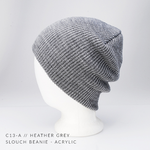 c13-A // HEATHER GREY