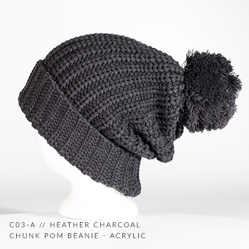 C03-A // HEATHER CHARCOAL