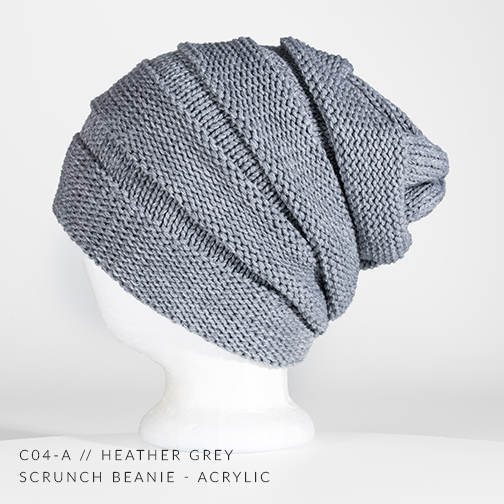 C04-A  // HEATHER GREY