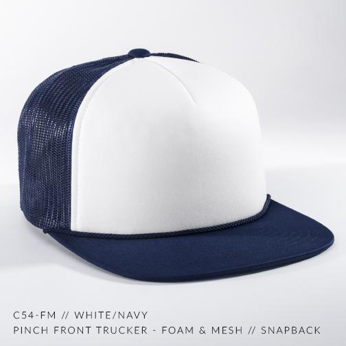 C54-FM // White/Navy