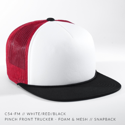 C54-FM // White/Red/Black