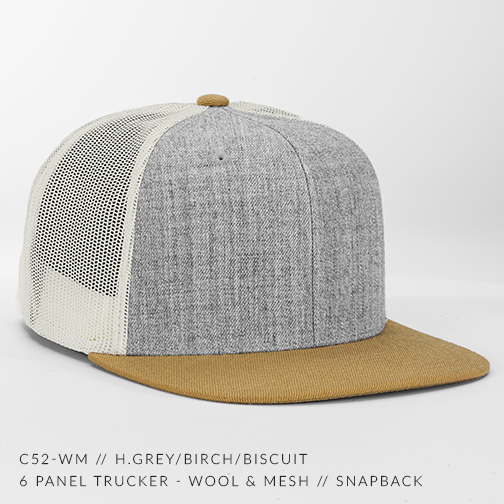 c52-WM // H.Grey/Birch/Biscuit